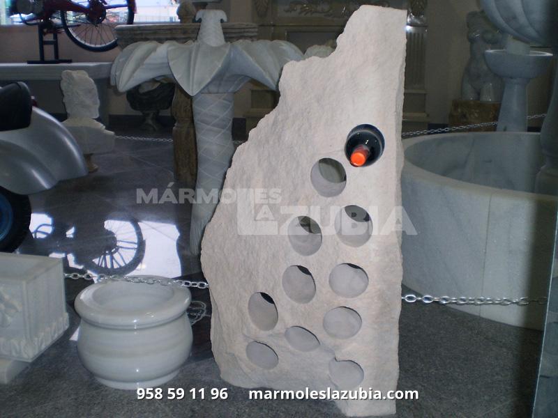 Botellero costero de piedra caliza