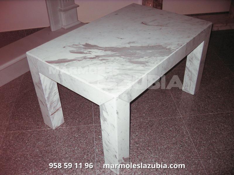 Mesas de marmol y cristal ideas de disenos for Marmol para mesa