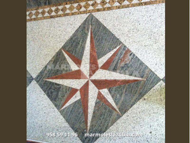Soleria de Granito con estrella